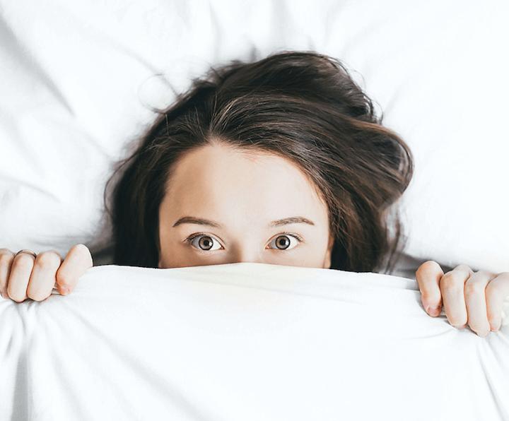 Wat gebeurt er 's nachts met je huid
